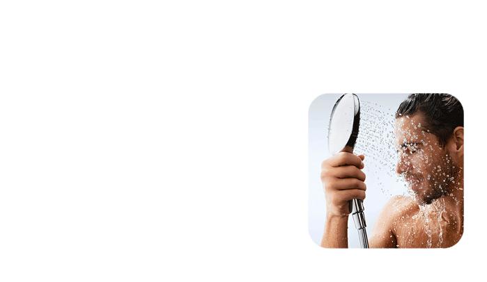 Man-showering-with-Halcyan-Water-