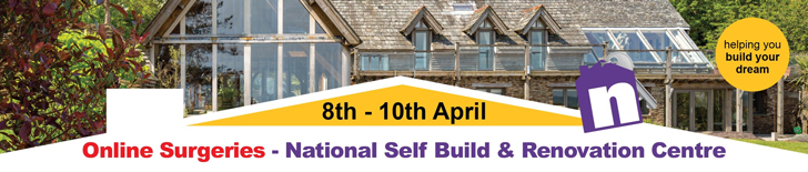 NSBRC web banner online surgeries national self build & renovation centre Halcyan Water Conditioners